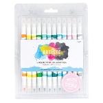 DDOA851102 - Artiste Dual Tip Brush Markers (12 Pack) - Pastel