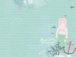 KCSA285 - Kaisercraft 12x12 D-Ring Album - Mermaid