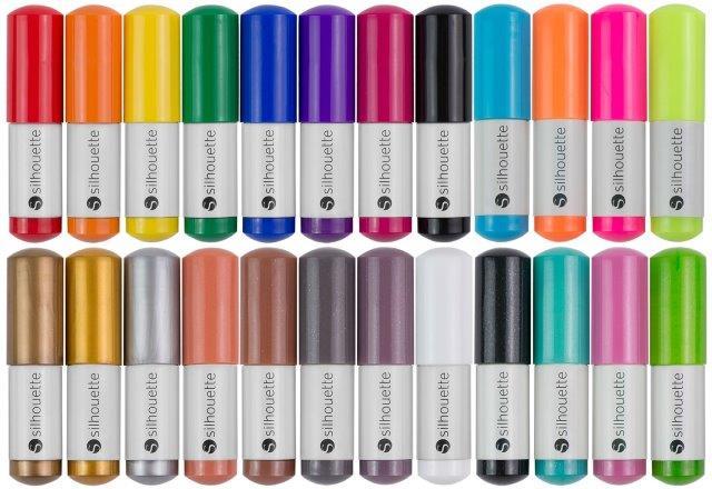 S-KIT-PEN2 - Silhouette CAMEO Sketch Pen Starter Kit - 24 Colours